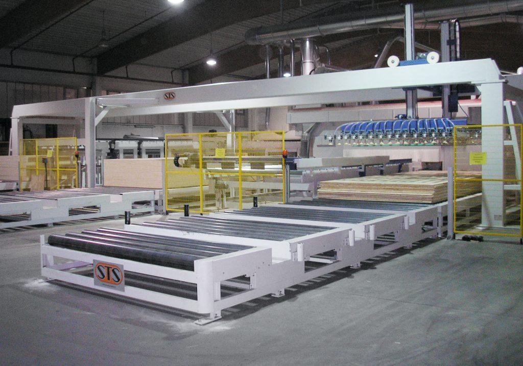 Automazioni per impianto levigatura e CNC