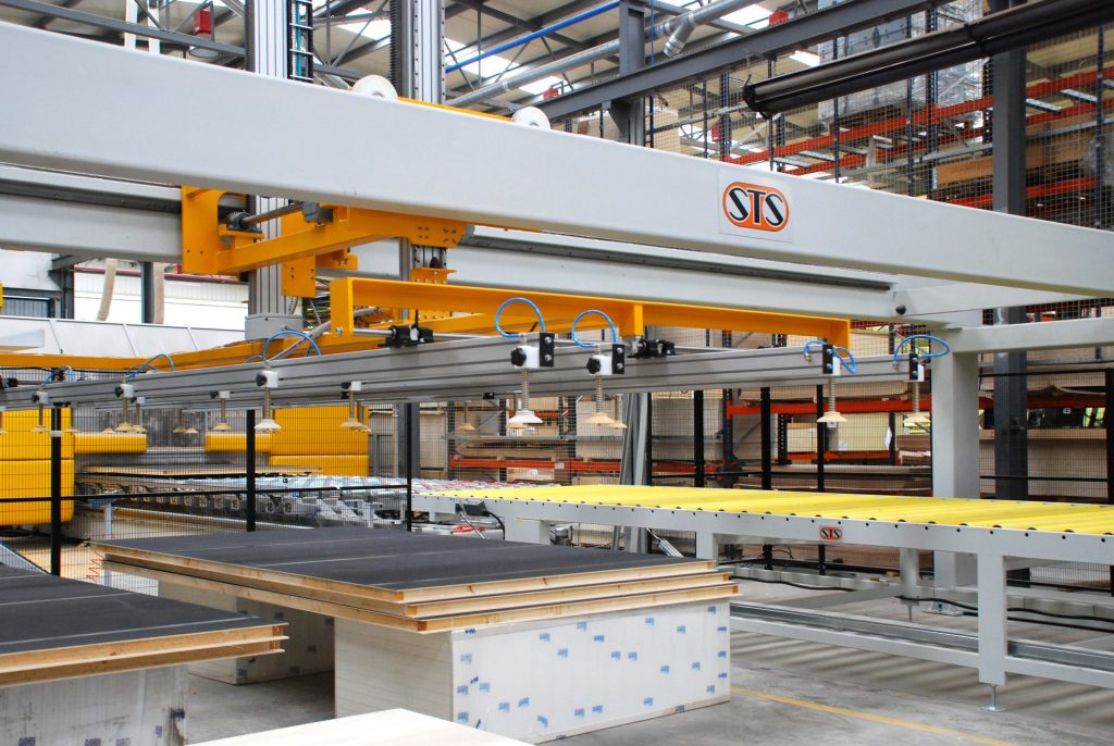 Impianto produzione pannelli autocaravan